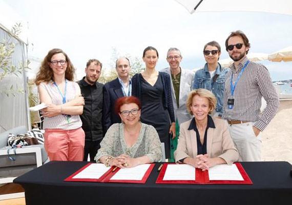 Le GFC et le CNC ont signé une nouvelle convention pour les coproductions franco-grecques