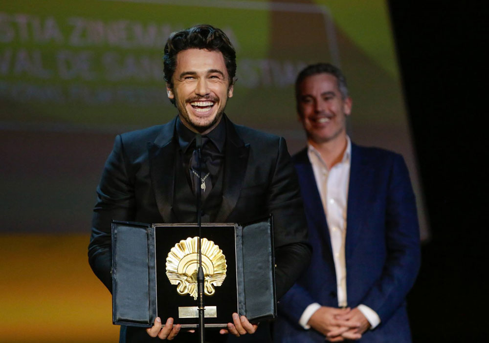 À San Sebastian, James Franco remporte le Coquillage d'or avec « The Disaster Artist »