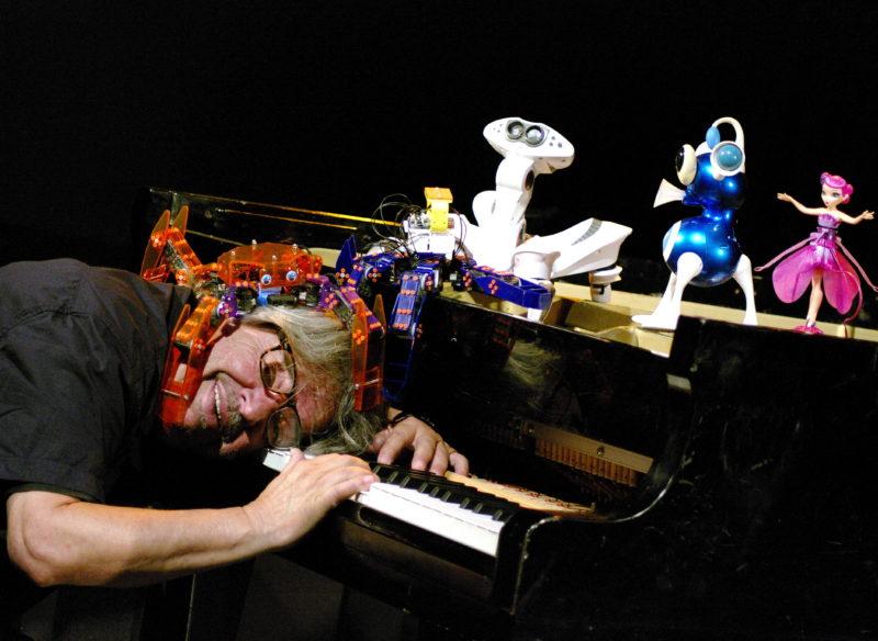 Bernard Lubat et les robots: entre art et science-friction