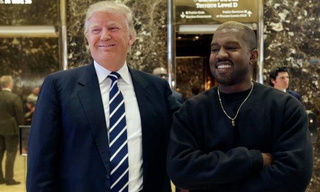 Kanye West en soutien à son «frère» Donald Trump