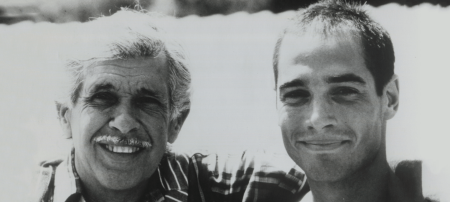 Jacques Mayol et Jean-Marc Barr (archives famille Mayol)