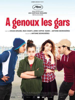 Antoine Desrosières, À genoux les gars (affiche)