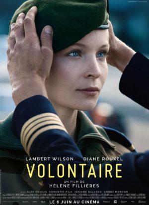 Hélène Fillières, Volontaire, avec Lambert Wilson et Diane Rouxel (affiche)