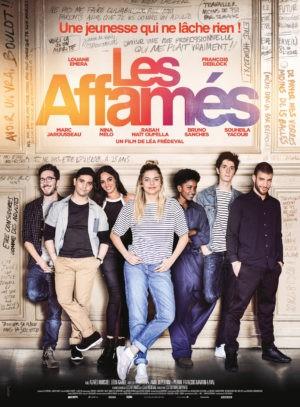 Léa Frédeval, Les Affamés, avec Louane Emera et François Deblock (affiche)