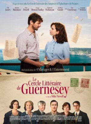 Mike Newell, Le Cercle littéraire de Guernesey, avec Lily James (affiche)