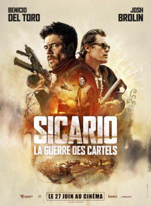 Stefano Sollima, Sicario - la guerre des cartels, avec Josh Brolin, Benicio Del Toro (affiche)