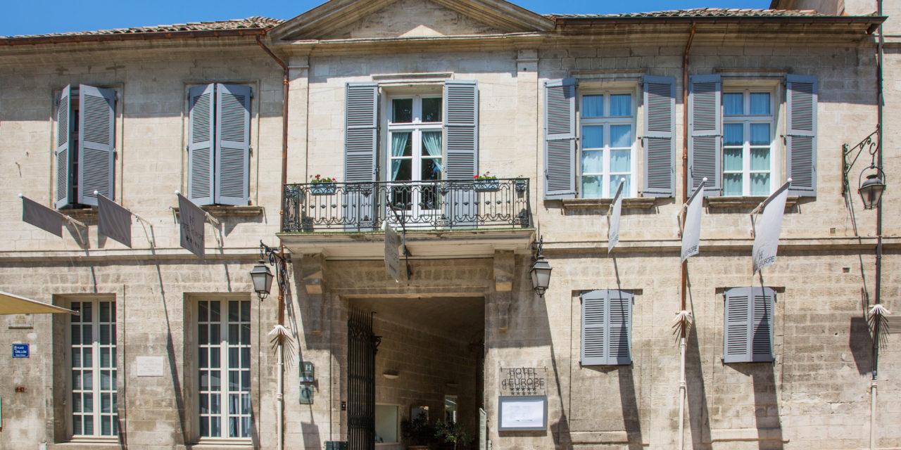 Avignon 2018 – Le prestigieux Hôtel d'Europe se lance dans l'aventure du festival