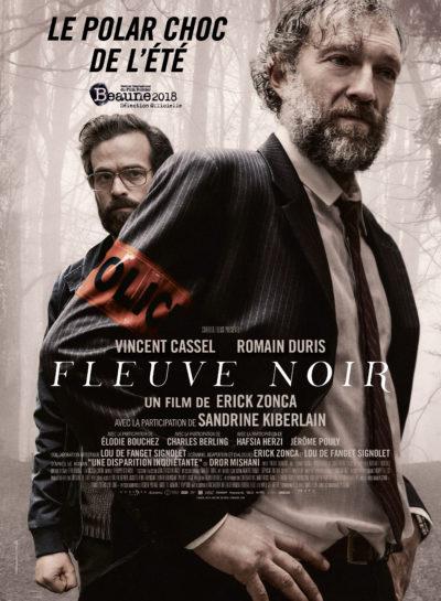 Érick Zonca, Fleuve noir, avec Vincent Cassel et Romain Duris (affiche)