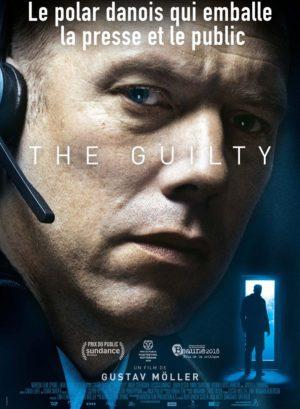 Gustav Möller, The Guilty, avec Jakob Cedergren (affiche)