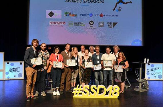 Bilan et lauréats du Sunny Side of the Doc 2018