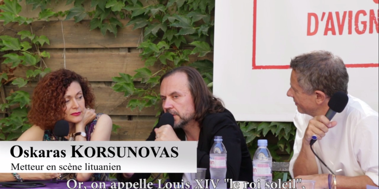 Vidéo. Oskaras Koršunovas sert un Tartuffe à la sauce lituanienne