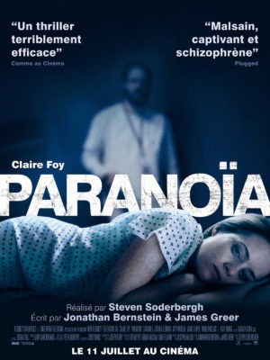 Steven Soderbergh, Paranoïa, avec Claire Foy (affiche)