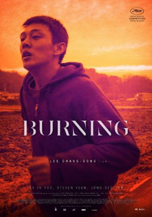 Lee Chang-Dong, Burning, Corée du Sud, affiche film