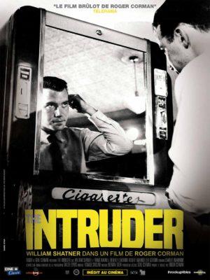 Roger Corman, The Intruder, avec William Shatner, film affiche