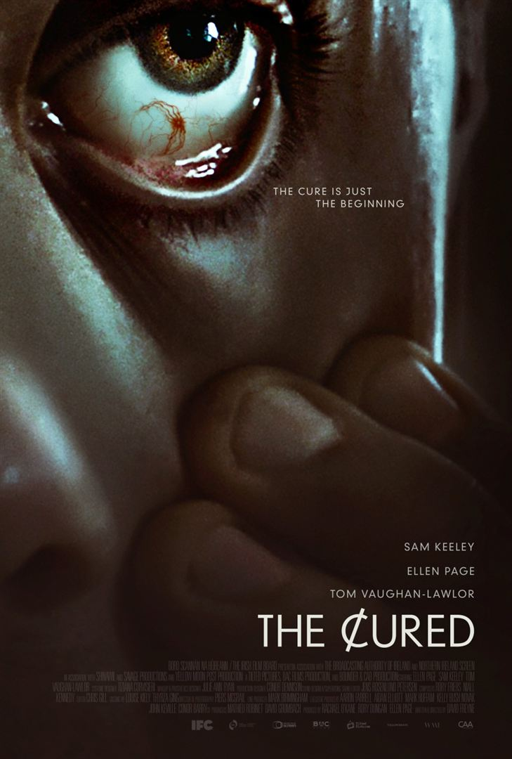 affiche film the cured