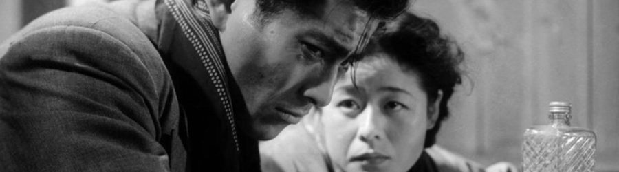 Akira Kurosawa, L'Ange ivre, avec Takashi Shimura, Toshiro Mifune
