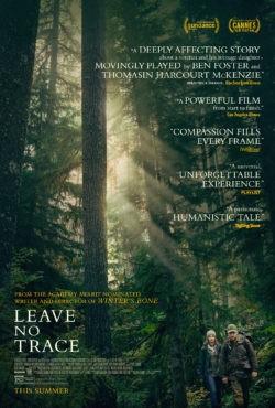 Debra Garnik, Leave No Trace, avec Thomasin McKenzie, Ben Foster (affiche)