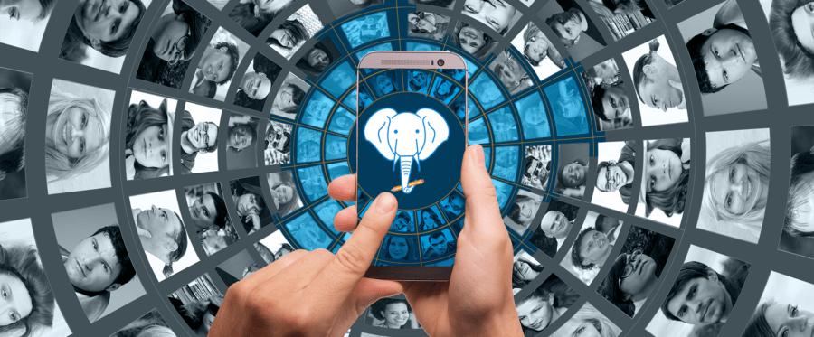 Application Remembr Fond réseaux sociaux