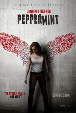 Pierre Morel, Peppermint, avec Jennifer Garner (affiche)