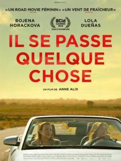 Anne Alix, Il se passe quelque chose, avec Lola Duenas, Bojena Horackova (affiche)