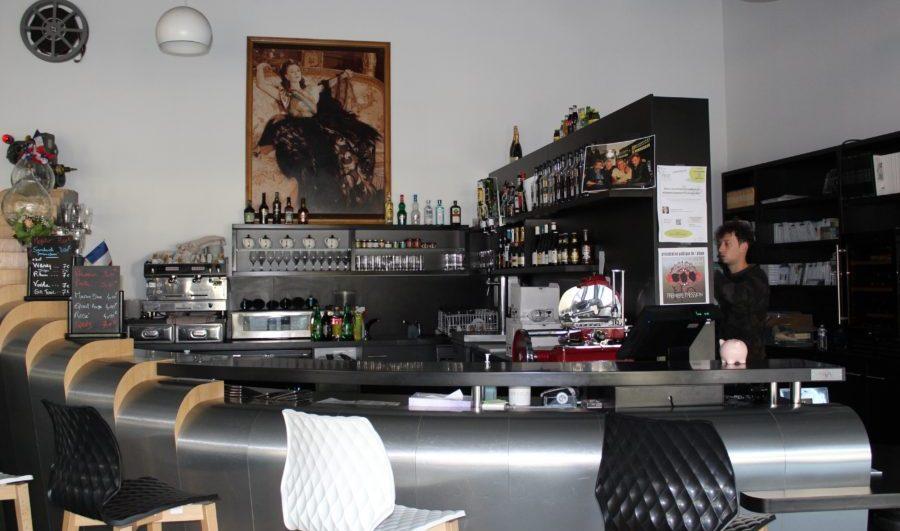 Bar des Ateliers du cinéma à Beaune