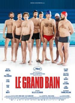 Gilles Lellouche, Le Grand Bain, film affiche