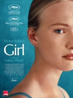 Lukas Dhont, Girl film, avec Victor Polster affiche