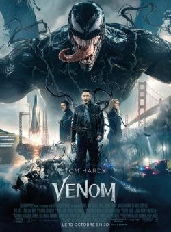 Venom film affiche Tom Hardy