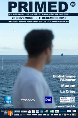 Affiche festival PriMed 2018 à Marseille