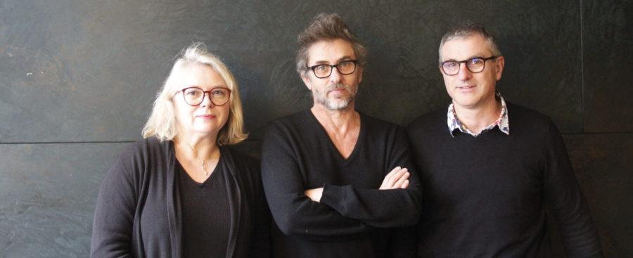 Mathilde Mottier, Pascal Rambert, François Vila (crédits : Pierre Monastier)