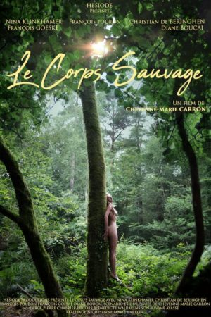 Cheyenne Caron, le Corps Sauvage, Nina Klinkhamer (affiche)