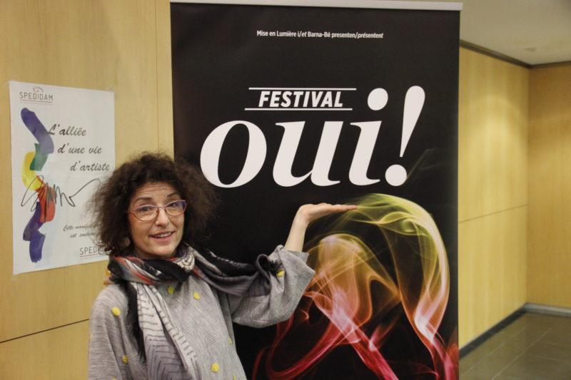 Nathalie Papin - Festival OUI (crédits : Pierre Monastier)