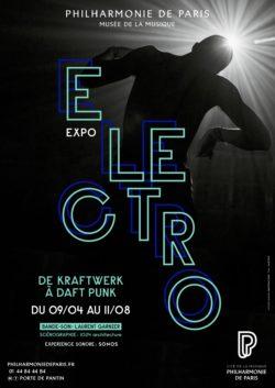 Expo électro à la Philharmonie de Paris affiche