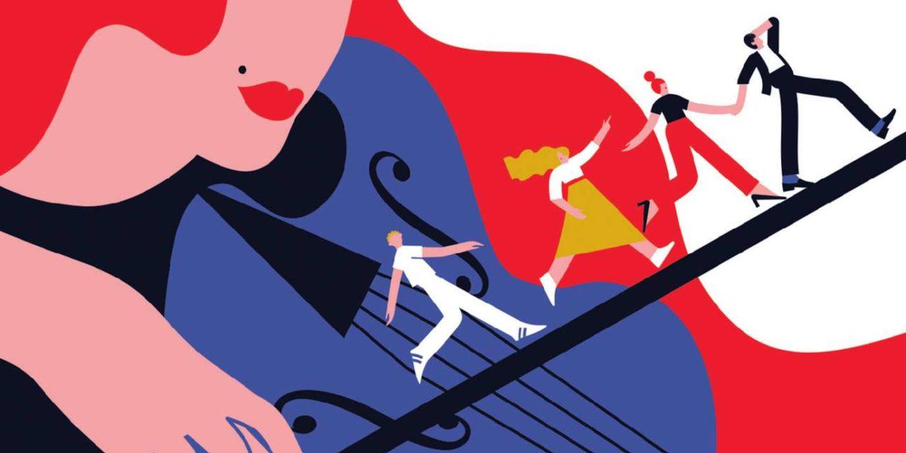 """""""Les Amis"""" d'Aja Gabel: l'harmonie musicale à tout prix"""