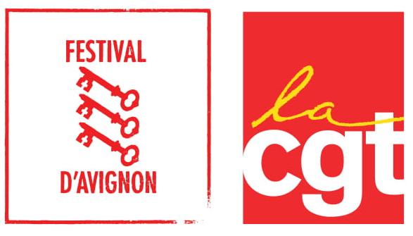 Communiqué de presse annonçant l'initiative conjointe de la CGT et du Festival d'Avignon