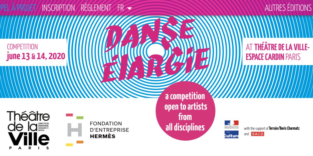 Appel à projets pour le concours DANSE ÉLARGIE 2020