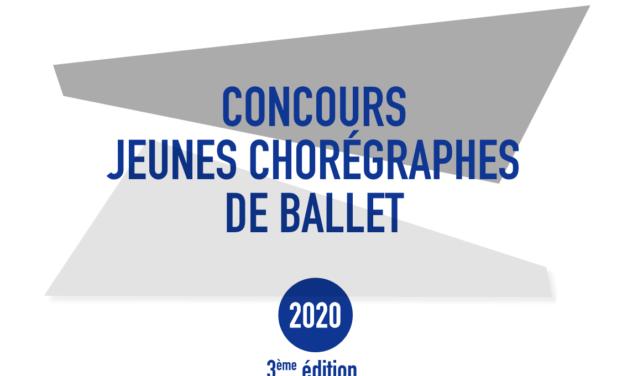 Appel à candidatures pour la 3e édition du Concours de jeunes chorégraphes