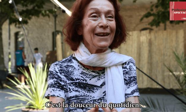 VIDÉO. L'œuvre-choc de la grande actrice Bérengère Dautun