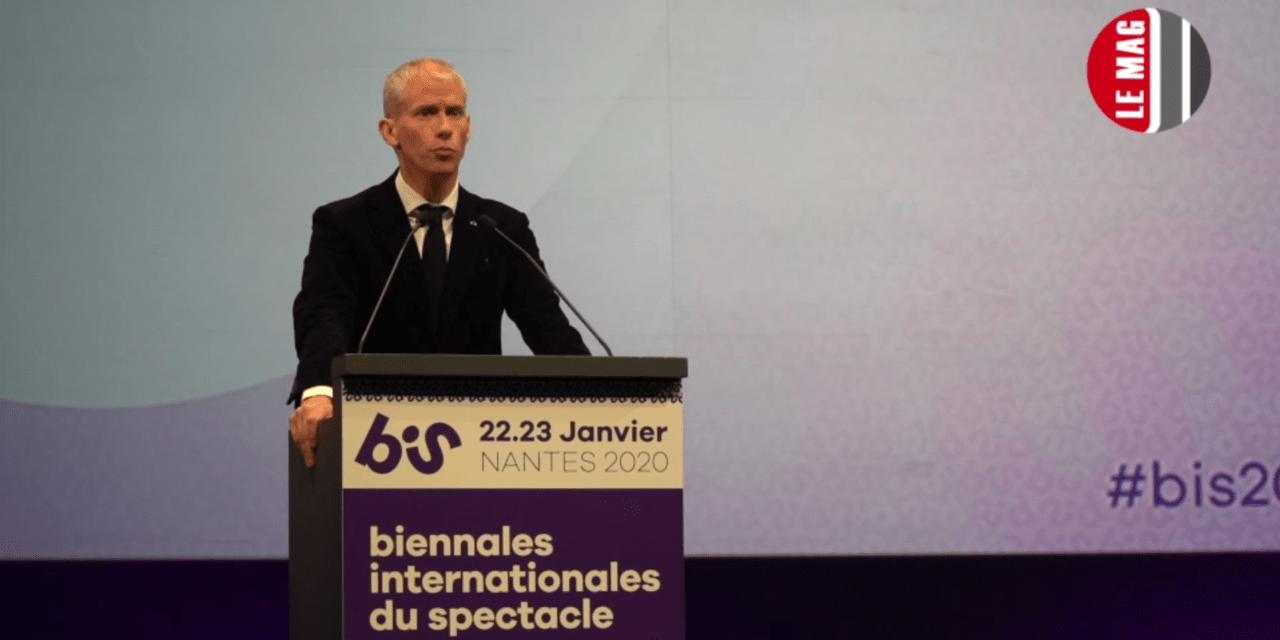 Vidéo. Discours de Franck Riester aux BIS de Nantes dans un contexte houleux