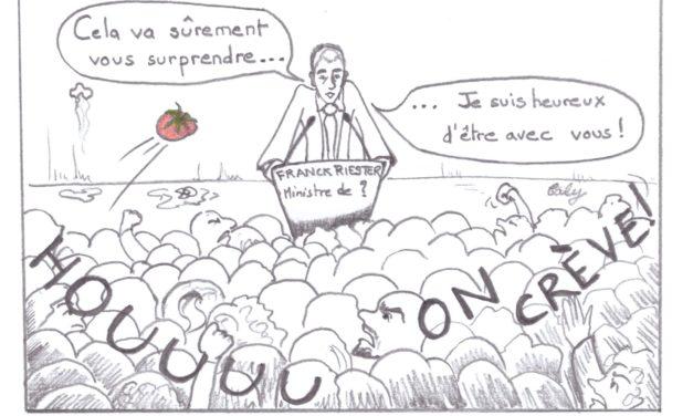 """Franck Riester et le monde des arts : """"Je t'aime moi non plus"""""""
