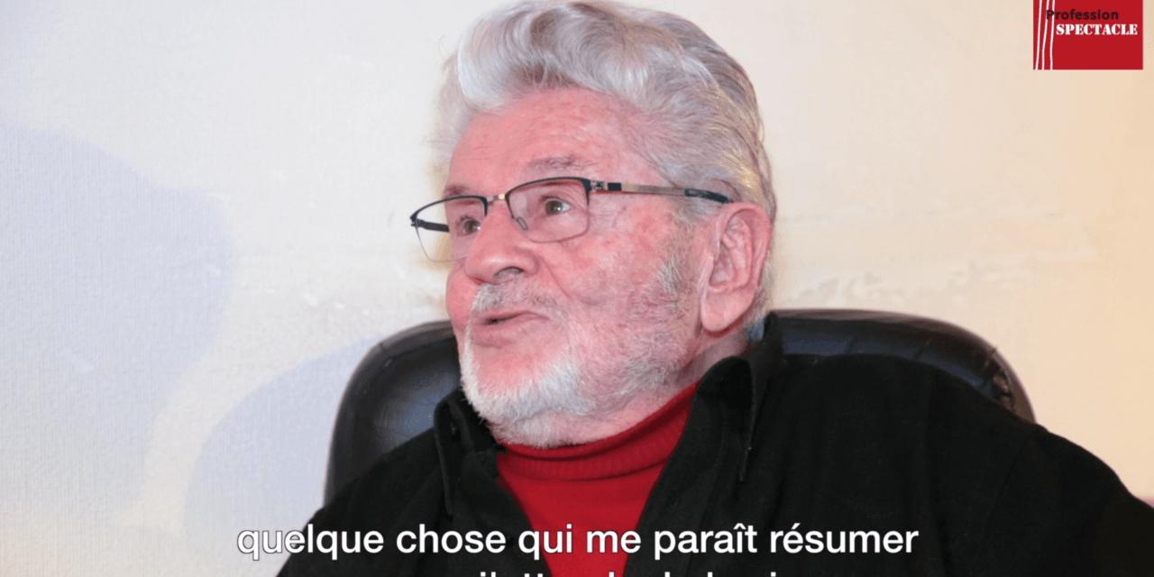 VIDÉO. L'œuvre-choc de Claude Mathieu, comédien et pédagogue