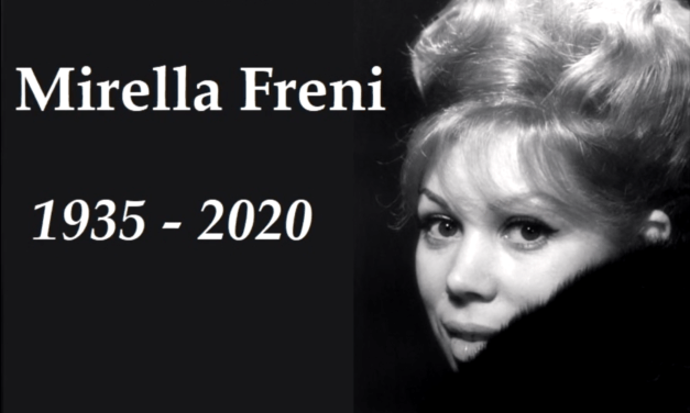 RIP. Mirella Freni, grande soprano italienne