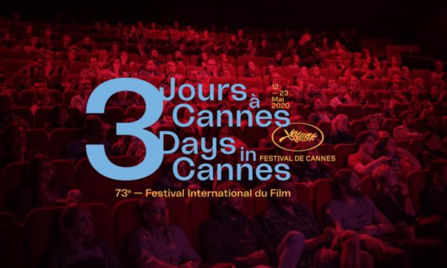 «3 jours à Cannes» :le pass jeune du festival est de retour !