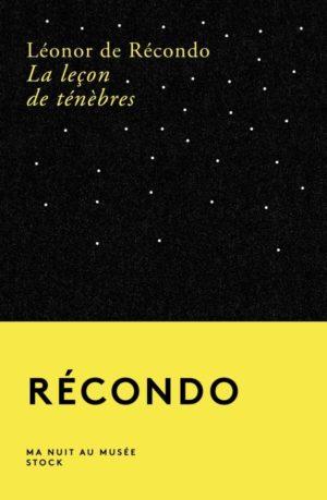 Léonor de Récondo La leçon de ténèbres Stock