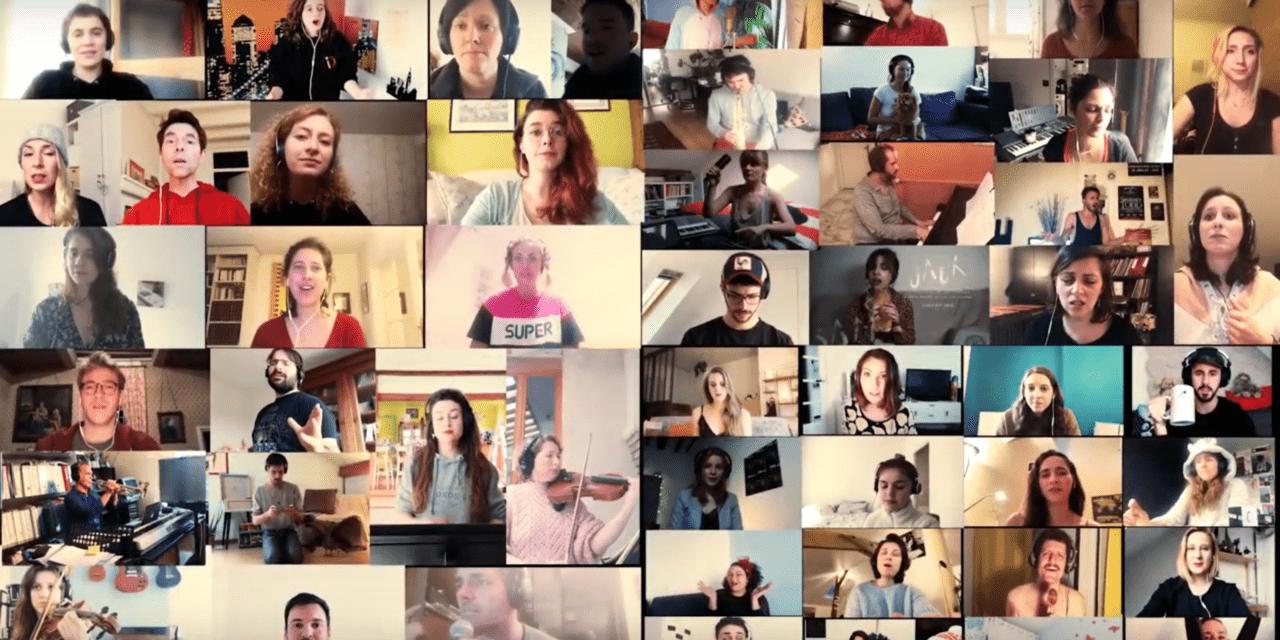 """Vidéo 100 % confinée : 135 musidramiens chantent """"Show Must Go On"""""""