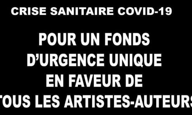 Coronavirus : les artistes-auteurs, au bord du gouffre, lancent une pétition pour leur survie