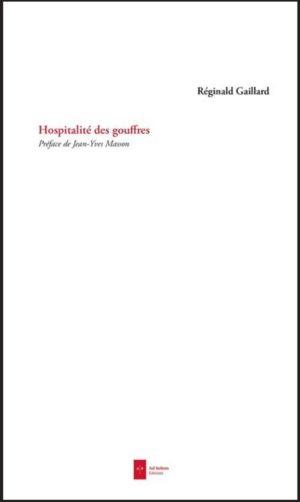 Réginald Gaillard Hospitalité des gouffres couverture