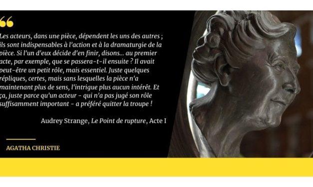 À la découverte d'Agatha Christie la dramaturge