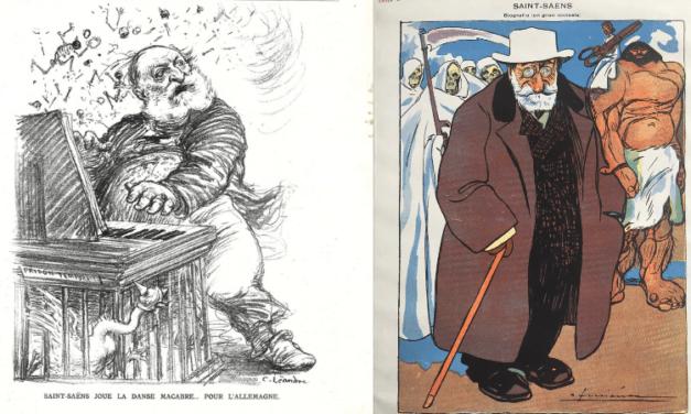 Camille Saint-Saëns: portrait tout en caricatures