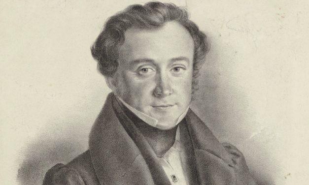 8 février 1844 : un nouvel inconnu qui vous salue bien